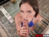 Busty MILF Krissy Lynn is an Oral sex enthusiast