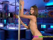 Casting and fucking a stunning Thai gogo bar dancer