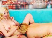 Playful Blonde Lesbians with Big Tits