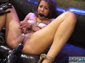 Red latex bdsm and girls tied in stockings Engine failure in the