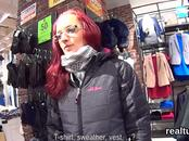 Exceptional czech nympho gets teased in the hypermarket and rode in pov