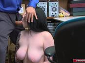 19yo thief fucked liked a whore in store securitys office