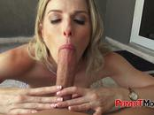 Cory is seduced into taking stepsons huge cock deep in her cunt