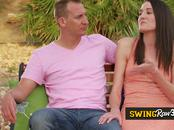 New swinger couple goes to weekend retreat. They meet veteran swingers and trained sex experts.