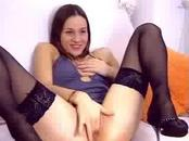 barecamgirl.com hot teen black stockings play with dildo in the ass webcam