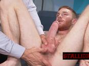Young dude pounded with fat dick