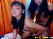 Sexy Amazing Shemale Couple Banging Their Ass
