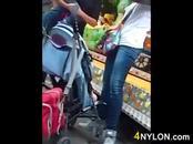 Girl At An Amusement Park