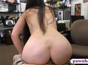 Ex dominatrix sucks off and pounded by nasty pawn guy