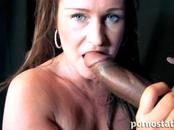 Big-Titted Lady Nailed By Black Rod