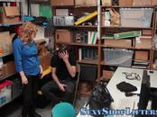 Milf mall cop eaten out and banged