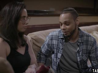 Woman cheating with her black ex big dick boyfriend