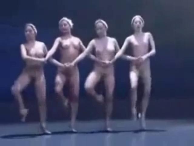 Erotic dance performance 13 naked swan lake