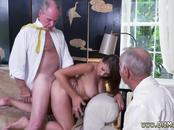 Old man does anal first time Ivy impresses with her hefty mounds and