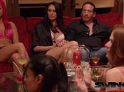 American swinger couple is interviewed by a sexologist before entering the Swing House.