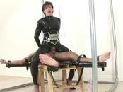 Mistress rides her slaves hard cock