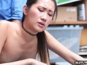 Sweet Jade Noir wants a big hard dick inside her pussy