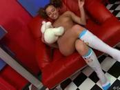 Hot Slut Toys Vagina With Large Dildo
