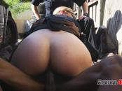 MILF cops take advantage of big black cock
