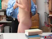 Shoplifter Teen Zoe Parker gets caught and fucked hard