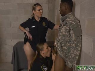 Sexy ebony milf hd Fake Soldier Gets Used as a Fuck Toy