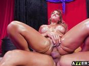 MILF dancer Mercedes Carrera gets a hot anal fuck