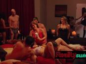 Orgy gets these swingers hot and ready to fuck with each other