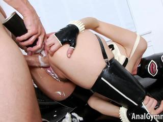 Fetish anal hardcore with whipped cream in ass Dana DeArmond