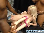 Hot babe Piper Perri and incredible Alura Jenson share black cock