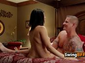 Swingers admit they love seeing their partner with other couples