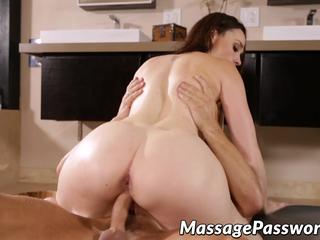 Horny Chanel Preston makes massage of Marcus Londons dick