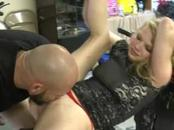 Blonde Sucks Dick And Fucked In Scooter Store Stunt