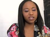 Black girl mending broken heart found comfort with naughty big cock buddies
