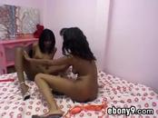 Ebony Lesbians In High Heels