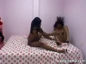 Dirty Black Lesbian Couple