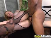 Hot lawyer with huge tits is addicted to BBC powered anal