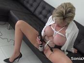 Unfaithful british mature gill ellis pops out her big breasts