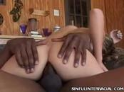 Aroused Babe Gets Butt Fucked By Black Eager Staff