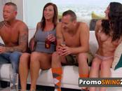 John and Jess meet with other horny couples for steamy foreplay