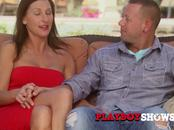 Ashley and Nick engage in pre party sex before meeting other couples