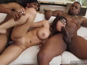 Arab fuck russian and black guy girl My Big Black Threesome