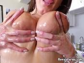 Curvy Babe Angela White Enjoys Boyfriends Big Cock
