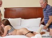American girl old man Introducing Dukke