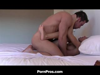 Gorgeous Brunette Girlfriend Crams Needy Dick In Mouth And Pussy
