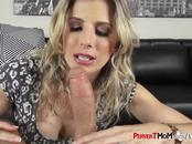 Kinky milf makes her stepson pull out his big dong and bang her hard