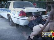White female cops in interracial karma