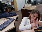 Amateur sells her watch and gets banged by pawn dude