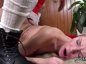 Kissable czech nymphos spread their asses with buttplug and long dildos