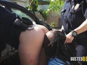 Jamaican criminal resists arrest with these perverted milf cops