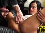 Hot ass brunette MILF Skyler McKay masturbation session